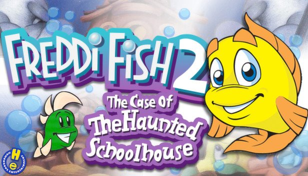 Freddi Fish 2: The Case of the Haunted Schoolhouse Review